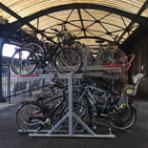 vélo sur deux niveaux